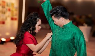 Hoàng tử xiếc Quốc Nghiệp ủng hộ vợ quay lại sân khấu âm nhạc