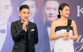 MC Phí Linh mang thai ở tháng thứ 6 sau hơn 2 tháng kết hôn