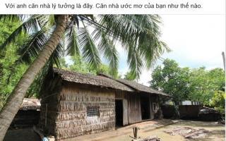 Sống trong biệt thự tiền tỷ, ông xã Phan Như Thảo lại ước ao nhà tranh vách đất
