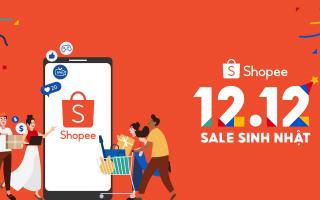Shopee khởi động sự kiện 12.12 Sale Sinh Nhật, Kỷ niệm hành trình 5 năm đẩy mạnh số hóa trong khu vực
