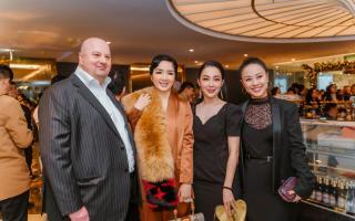 Hoa hậu Giáng My cùng dàn nghệ sĩ khách mời hội tụ tại tiệc  khai trương Eurasia Concept tại Hà Nội