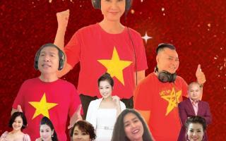 Diva Thanh Lam, NSND Tự Long hát cổ vũ tuyến đầu chống dịch