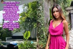 Minh Tú công khai đòi nợ khi mắc kẹt tại Bali